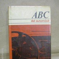 Coches y Motocicletas: ABC DEL AUTOMOVIL POR H. DILLENGURGER . Lote 55373952