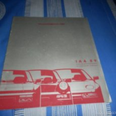 Coches y Motocicletas - catalogo porsche IAA 89 aleman - 55398497