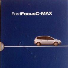 Coches y Motocicletas: CD - DVD.- DOSSIER DE PRENSA ORIGINAL FORD FOCUS C-MAX. PARIS 2002... Lote 55569196