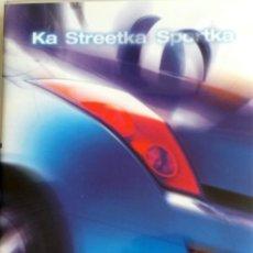 Coches y Motocicletas: CD - DVD.- DOSSIER DE PRENSA ORIGINAL FORD KA STREETKA SPORTKA.. Lote 55569279
