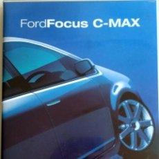 Coches y Motocicletas: CD - DVD.- DOSSIER DE PRENSA ORIGINAL FORD FOCUS C-MAX.. Lote 55569440