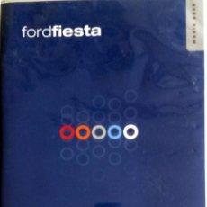 Coches y Motocicletas: CD - DVD.- DOSSIER DE PRENSA ORIGINAL FORD FIESTA 2002.. Lote 55569561