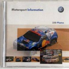 Coches y Motocicletas: CD - DVD .- DOSSIER DE PRENSA ORIGINAL VOLKSWAGEN - 250 FOTOS.. Lote 55569800