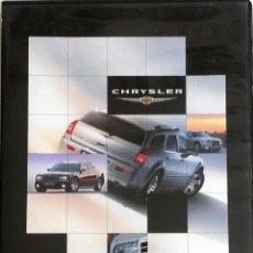 Coches y Motocicletas: CD - DVD - DOSSIER DE PRENSA ORIGINAL CHRYSLER 300C TOURING - 2004.. Lote 55710288