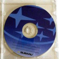 Coches y Motocicletas: CD - DVD - DOSSIER DE PRENSA ORIGINAL SUBARU.. Lote 55710334