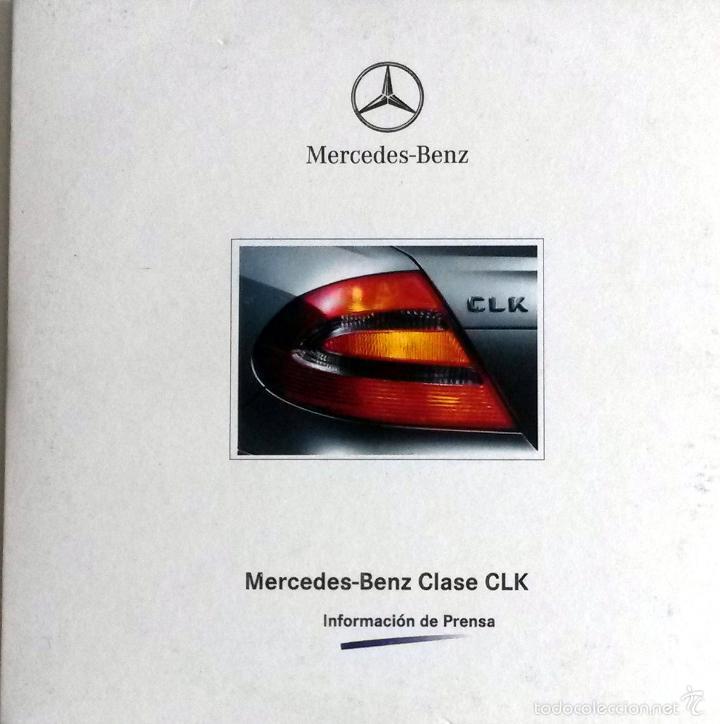 CD - DVD - DOSSIER DE PRENSA ORIGINAL MERCEDES-BENZ, CLASE CLK. (Coches y Motocicletas Antiguas y Clásicas - Catálogos, Publicidad y Libros de mecánica)