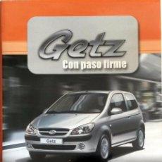 Coches y Motocicletas: CD - DVD - DOSSIER DE PRENSA ORIGINAL HYUNDAI GETZ.. Lote 55710775