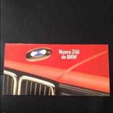 Coches y Motocicletas: FOLLETO CATALOGO PUBLICIDAD ORIGINAL BMW 316I . Lote 55805420