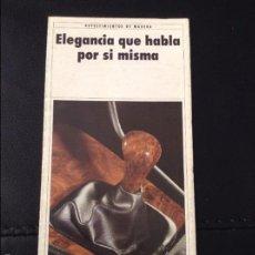 Coches y Motocicletas: FOLLETO CATALOGO PUBLICIDAD ORIGINAL BMW DE 1989. Lote 55805439