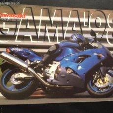 Coches y Motocicletas: FOLLETO CATALOGO PUBLICIDAD ORIGINAL KAWASAKI GAMA DE 1998. Lote 55812575