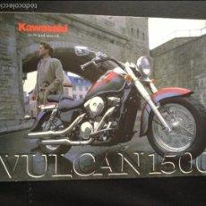 Coches y Motocicletas: FOLLETO CATALOGO PUBLICIDAD ORIGINAL KAWASAKI VULCAN 1500 DE 1998. Lote 55812673