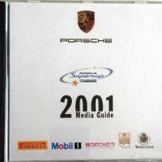 Coches y Motocicletas: CD - DVD - DOSSIER DE PRENSA ORIGINAL PORSCHE SUPERCUP - 2001.. Lote 55906678