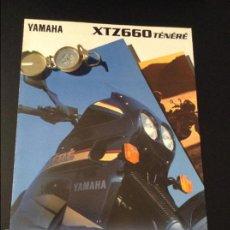 Coches y Motocicletas: FOLLETO CATALOGO PUBLICIDAD ORIGINAL YAMAHA XTZ660 TENERE DE 1997. Lote 55925672