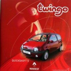 Coches y Motocicletas: CD - DVD - DOSSIER DE PRENSA ORIGINAL RENAULT- TWINGO.. Lote 55995222