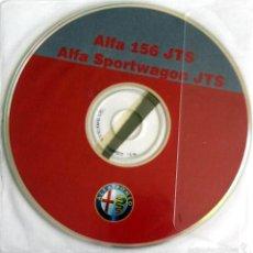 Coches y Motocicletas: CD - DVD - DOSSIER DE PRENSA ORIGINAL ALFA ROMEO - ALFA 156 JTS - ALFA SPORTWAGON JTS.. Lote 55995397