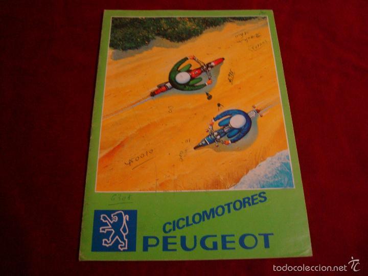CATALOGO CICLOMOTORES PEUGEOT (Coches y Motocicletas Antiguas y Clásicas - Catálogos, Publicidad y Libros de mecánica)