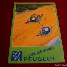 Coches y Motocicletas: CATALOGO CICLOMOTORES PEUGEOT . Lote 56027190