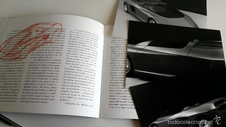 Coches y Motocicletas: DOSSIER DE PRENSA ORIGINAL PINIFARINA MYTHOS '89. - Foto 2 - 56106103