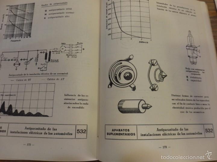 Coches y Motocicletas: LA ELECTRICIDAD EN LA AUTOMOCION,1959, TABLAS MONOGRAMAS DIAGRAMAS MUY ILUSTRADO 230 PAG - Foto 2 - 56119030