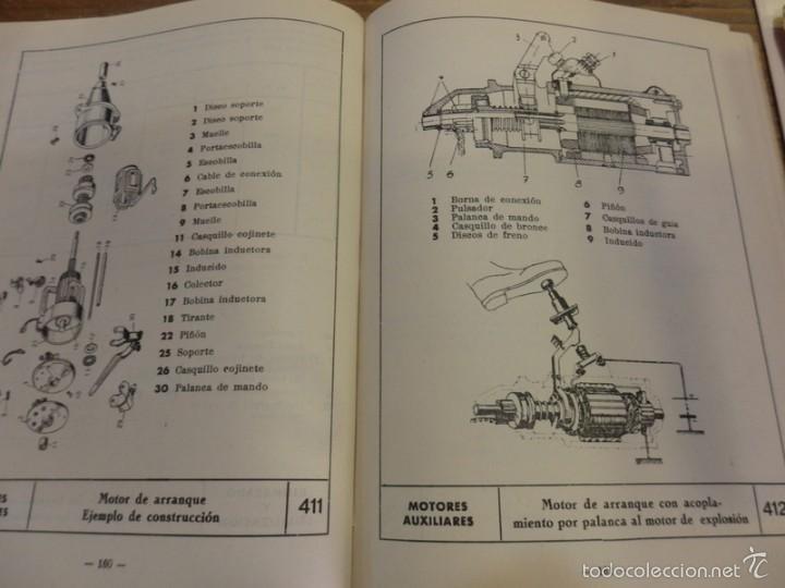 Coches y Motocicletas: LA ELECTRICIDAD EN LA AUTOMOCION,1959, TABLAS MONOGRAMAS DIAGRAMAS MUY ILUSTRADO 230 PAG - Foto 3 - 56119030