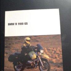 Coches y Motocicletas: FOLLETO CATALOGO PUBLICIDAD ORIGINAL BMW R 1100 GS . Lote 56205647