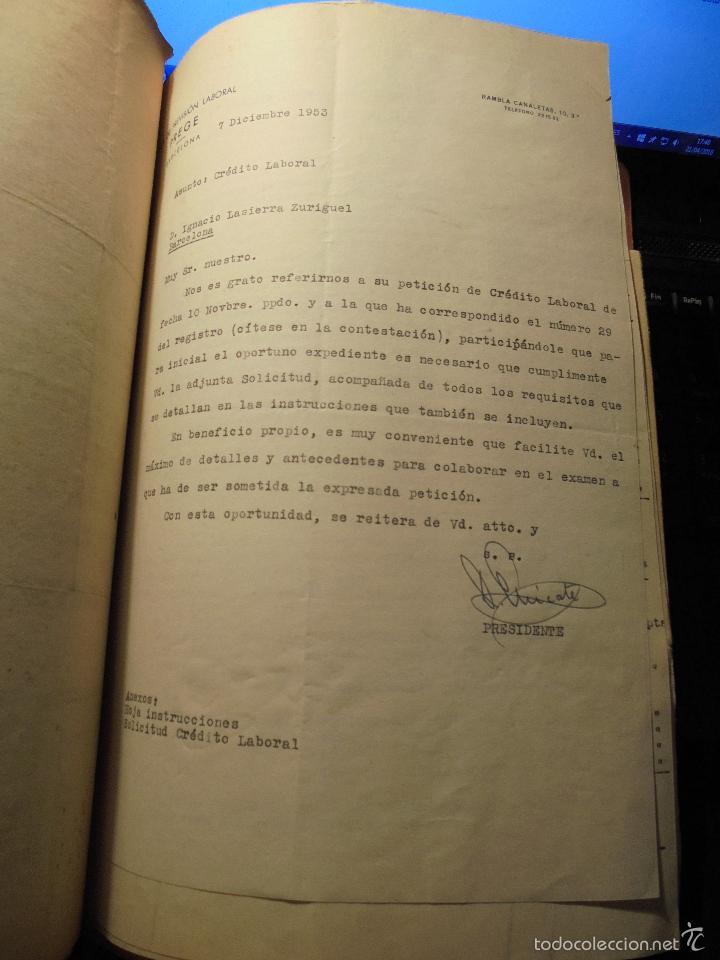 Coches y Motocicletas: MONTESA - 2 CARPETAS UNOS 200 DOCUMENTOS , DIBUJOS ORIGINALES Y PATENTES PARA REALIZAR 1953 - Foto 18 - 56278112