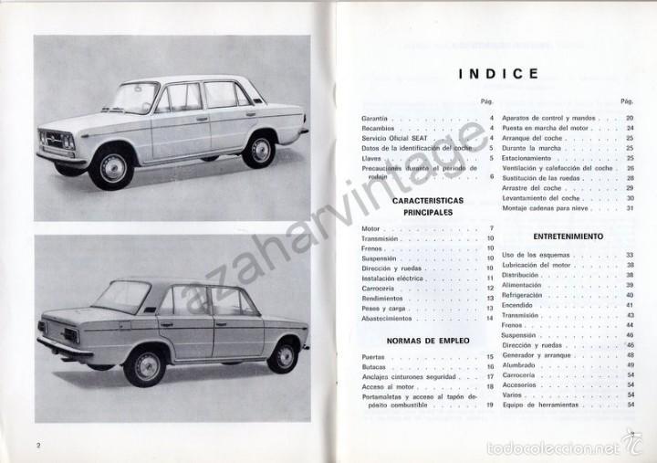 Coches y Motocicletas: SEAT 1430 - USO Y ENTRETENIMIENTO - AÑO 1971 - - Foto 2 - 56309306