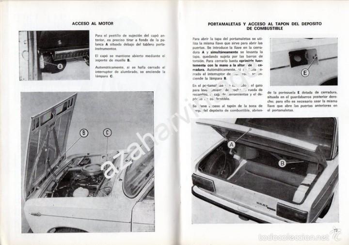 Coches y Motocicletas: SEAT 1430 - USO Y ENTRETENIMIENTO - AÑO 1971 - - Foto 3 - 56309306
