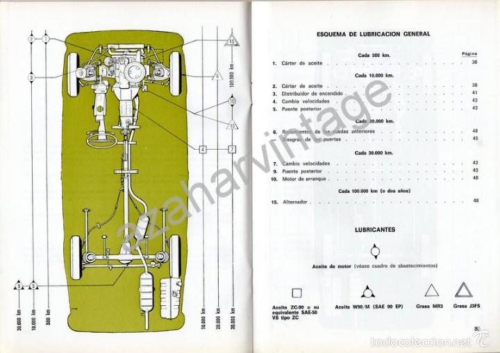 Coches y Motocicletas: SEAT 1430 - USO Y ENTRETENIMIENTO - AÑO 1971 - - Foto 4 - 56309306