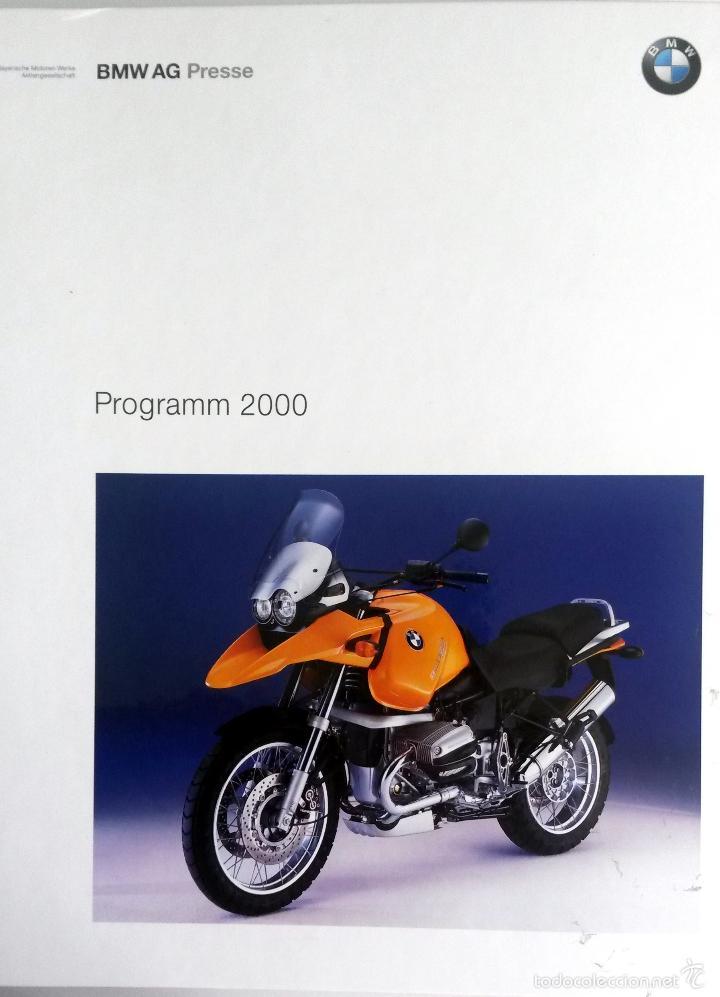 DOSSIER DE PRENSA -OFICIAL - BMW - PROGRAMM 2000. (Coches y Motocicletas Antiguas y Clásicas - Catálogos, Publicidad y Libros de mecánica)