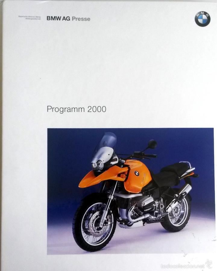 Coches y Motocicletas: DOSSIER DE PRENSA -OFICIAL - BMW - PROGRAMM 2000. - Foto 3 - 56371514