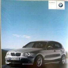 Coches y Motocicletas: DOSSIER DE PRENSA -OFICIAL - NUEVO BMW SERIE 1.. Lote 56371631