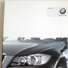 Coches y Motocicletas: DOSSIER DE PRENSA - OFICIAL - NUEVO BMW SERIE 3.. Lote 56371750