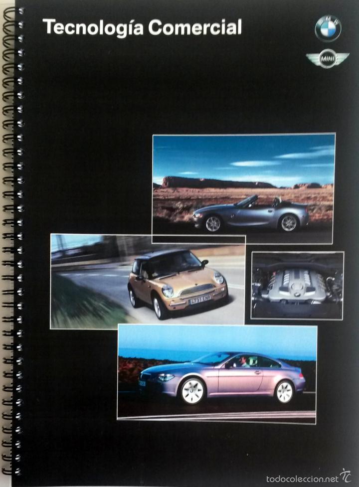 DOSSIER TECNOLOGÍA COMERCIAL - OFICIAL - BMW - MINI. (Coches y Motocicletas Antiguas y Clásicas - Catálogos, Publicidad y Libros de mecánica)
