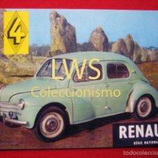 Coches y Motocicletas: RENAULT 4 - AUTOMOVILES, COCHES, MOTOR. Lote 56398514