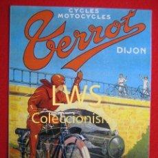 Coches y Motocicletas: TERROT CYCLES MOTOCYCLES - PUBLICIDAD IMAGENES - MOTOCICLISMO MOTOS - MOTOR. Lote 56473566