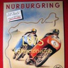 Coches y Motocicletas: NÚRBURGRING - PUBLICIDAD IMAGENES - MOTOCICLISMO MOTOS - MOTOR. Lote 56473671
