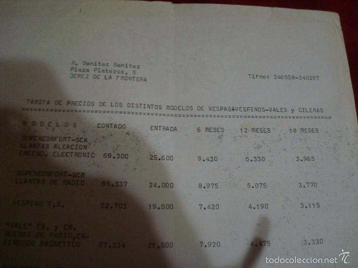 Tarifa De Precios Y Forma De Pago De Los Distin Comprar