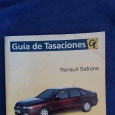 Coches y Motocicletas: MANUAL DE REPARACIÓN RENAULT SAFRANE. Lote 56545820