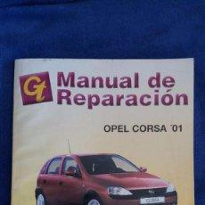 Coches y Motocicletas: MANUAL DE REPARACIÓN OPEL CORSA '01. Lote 56546189