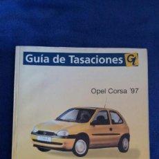 Coches y Motocicletas: MANUAL DE REPARACIÓN OPEL CORSA ' 97. Lote 56546236