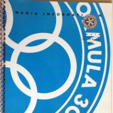 Coches y Motocicletas: DOSSIER DE PRENSA - F1 - OFICIAL - ÍMOLA 2003.. Lote 56573117
