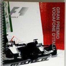 Coches y Motocicletas: DOSSIER DE PRENSA - F1 - OFICIAL - MONZA 2004.. Lote 56573320