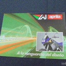 Coches y Motocicletas: PUBLICIDAD FOLLETO CATALOGO - APRILIA - DISTINTOS MODELOS - . Lote 56633598