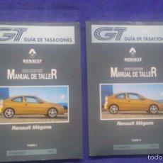 Coches y Motocicletas: MANUAL DE TALLER RENAULT MÉGANE / TOMOS I Y II / FEBRERO 1997. Lote 56688726