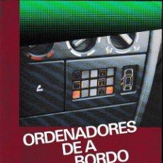 Coches y Motocicletas: ORDENADORES DE A BORDO (M. DE CASTRO 1987) SIN USAR.. Lote 56697178