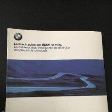 Carros e motociclos: FOLLETO CATALOGO PUBLICIDAD ORIGINAL BMW DE 1999. Lote 56703521