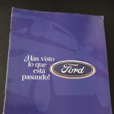 Coches y Motocicletas: FOLLETO CATALOGO PUBLICIDAD ORIGINAL FORD. Lote 56732138