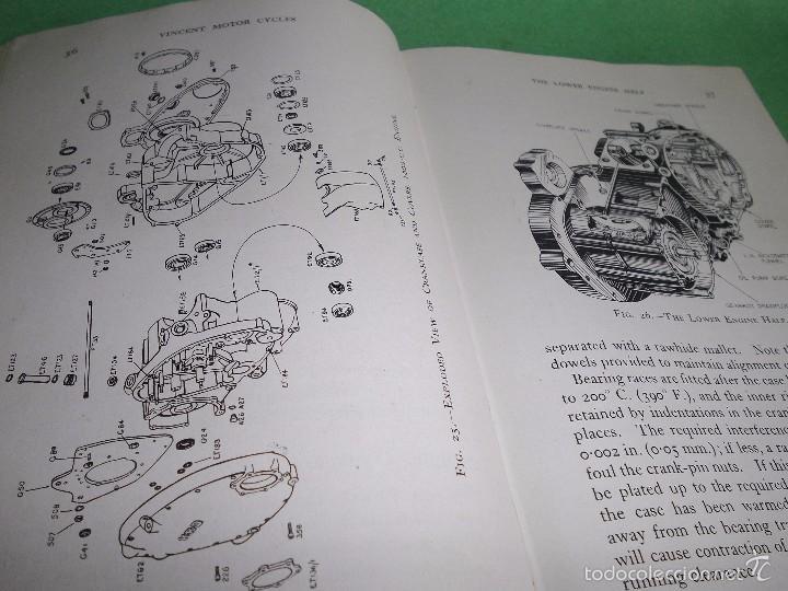 Coches y Motocicletas: DIFICIL MOTOCICLETA VINCENT HRD MANUAL 1955 GUIA PRACTICA DESDE 1935 INSTRUCCIONES MANTENIMIENTO - Foto 11 - 56803673