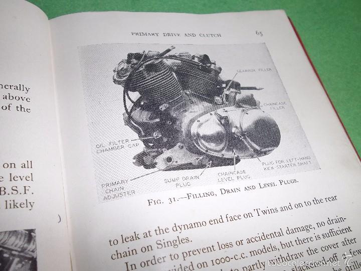 Coches y Motocicletas: DIFICIL MOTOCICLETA VINCENT HRD MANUAL 1955 GUIA PRACTICA DESDE 1935 INSTRUCCIONES MANTENIMIENTO - Foto 12 - 56803673